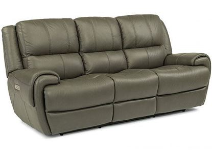 Nance Reclining Sofa with Power Headrests (1179-62PH)