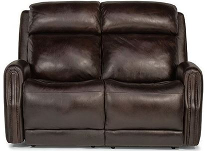 Stanley Reclining Loveseat with Power Headrests (1897-60PH)