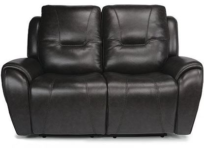 Trip Reclining Loveseat with Power Headrests (1134-60PH)