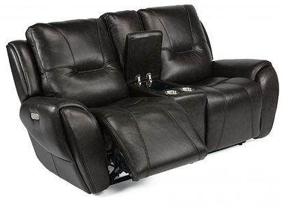 Trip Reclining Loveseat with Console (1134-64PH)