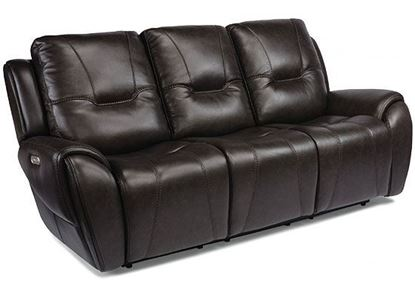 Trip Reclining Sofa with Power Headrests (1134-63PH)