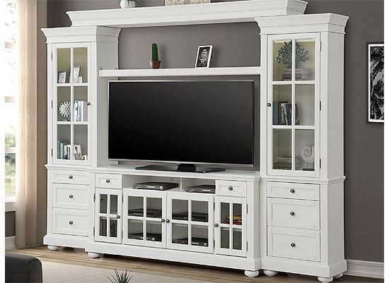 """Cape Cod 63"""" Entertainment Wall (CAP#163-3) by Parker House furniture"""