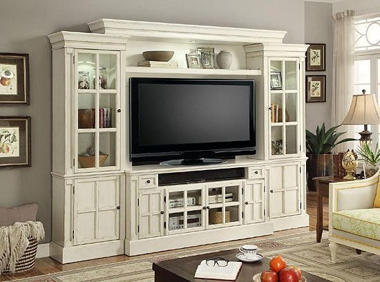 CHARLOTTE 4 piece 72 in. Entertainment Wall by Parker House furniture