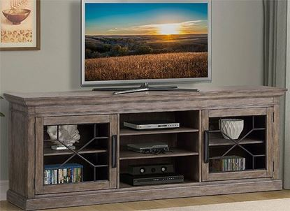 SUNDANCE - SANDSTONE 92 in. TV Console  SUN#92-SS  by Parker House furniture