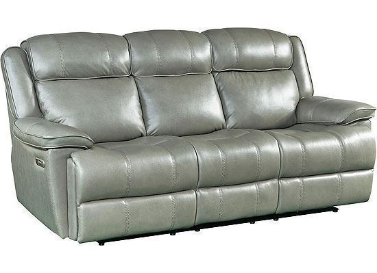 ECLIPSE - FLORENCE HERON Power Reclining Sofa (MECL#832PH-FHE)