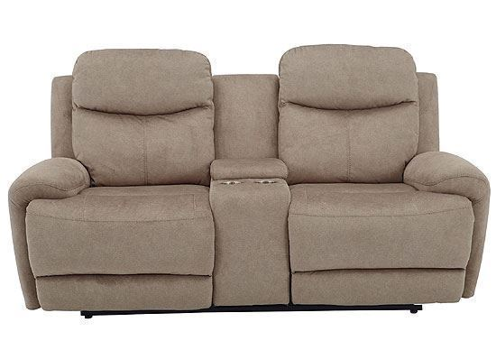 BOWIE - DOE Power Console Loveseat MBOW#822CPH-DOE by Parker House furniture