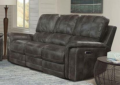 BELIZE - ASH Power Sofa MBEL#832PH-ASH by Parker House furniture