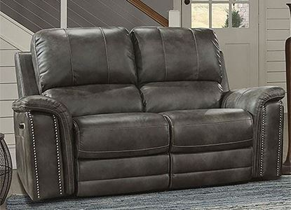 BELIZE - ASH Power Loveseat MBEL#822PH-ASH by Parker House furniture