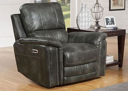 BELIZE - ASH Power Recliner MBEL#812PH-ASH by Parker House furniture