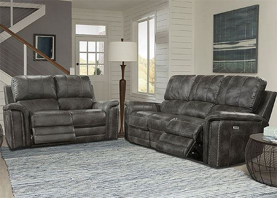 BELIZE - ASH Power Reclining Collection MBEL-321PH-ASH by Parker House furniture