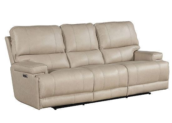 WHITMAN - VERONA - Linen Powered By FreeMotion Power Cordless Sofa (MWHI#832PH) by Parker House furniture