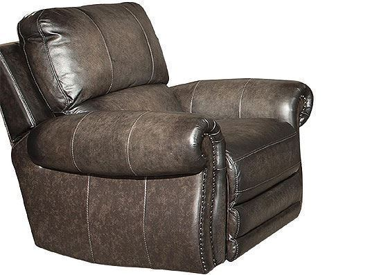 Thurston Shadow Leather Recliner - MTHU#812PH-SH by Parker House furniture