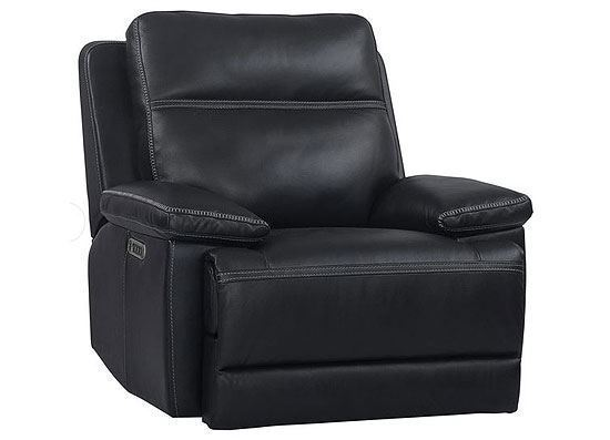 Paxton Power Navy Recliner (MPAX#812PHL-NAV) by Parker House furniture