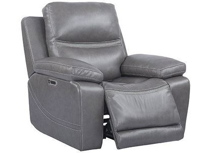 PALMER - GREIGE Power Recliner (MPAL#812PHL-GRG) by Parker house furniture