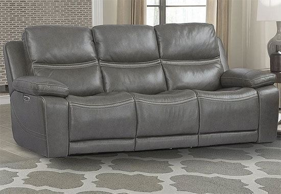 PALMER - GREIGE Power Sofa (MPAL#832PHL-GRG) by Parker House furniture