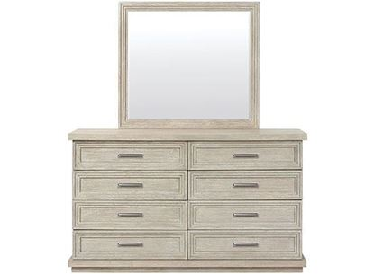 Cascade Eight Drawer Dresser - 73460 with Mirror by Riverside furniture