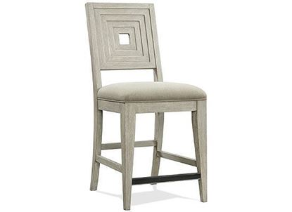 Cascade Upholstered Wood back Counter Stool #73443 by Riverside furniture