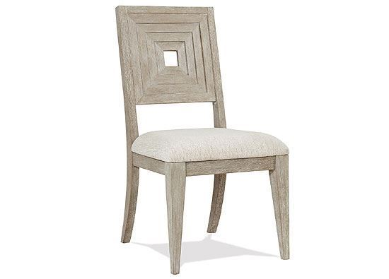 Cascade Upholstered Wood Back Side Chair 73457 by Riverside furniture