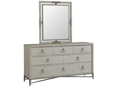 Maisie Eight Drawer Dresser - 50260 with Mirror by Riverside furniture