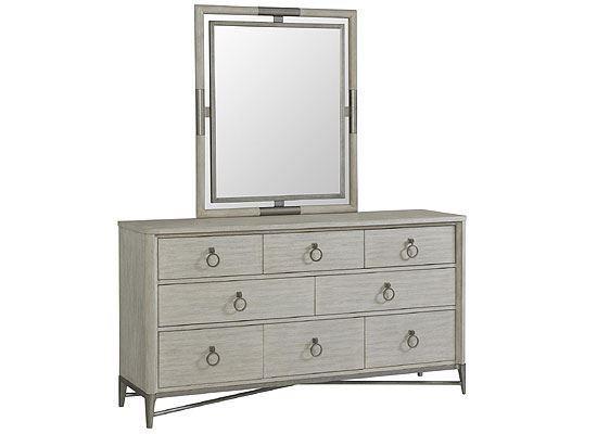 Maisie Eight Drawer Dresser - 50260 with Mirror by Riverside furniture