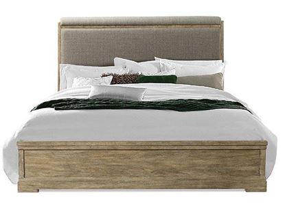 Milton Park Upholstered Bed by Riverside furniture