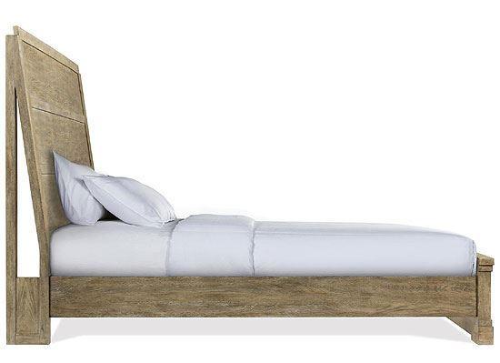 Milton Park Panel Bed by Riverside furniture