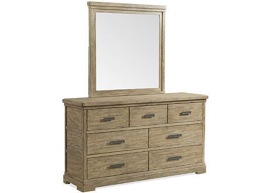 Milton Park Seven Drawer Dresser - 18660 by Riverside furniture