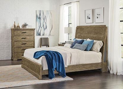 Milton Park Bedroom Collection with Panel Bed by Riverside furniture