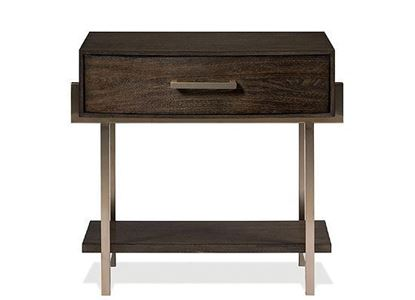 Monterey One Drawer Nightstand - 39467 by Riverside furniture