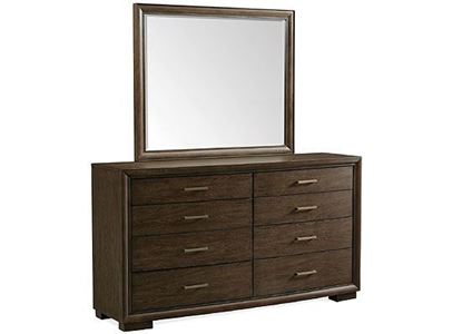 Monterey Eight-Drawer Dresser - 39460 with Mirror by Riverside furniture
