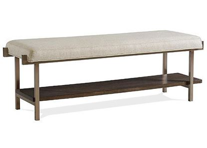 Monterey Upholstered Bed Bench - 39462 by Riverside furniture