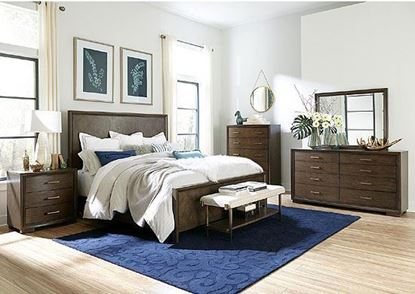 Monterey Bedroom Collection with Panel Bed by Riverside furniture