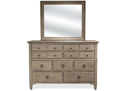 Myra Eight Drawer Dresser (59462-Natural) by Riverside furniture