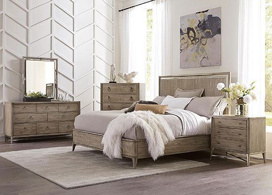 Sophie Bedroom Collection with Panel Bed by Riverside furniture