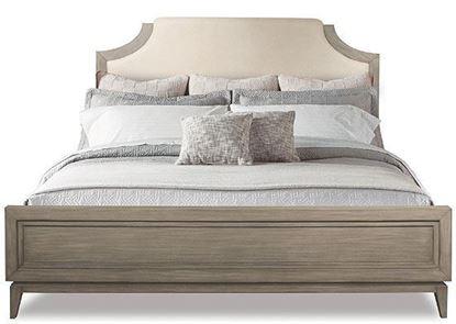 Vogue Upholstered Panel Bed (46170-46180) by Riverside furniture