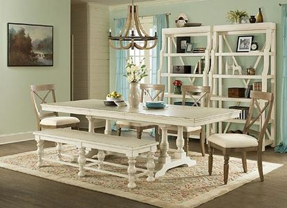 "Aberdeen Dining Room with 80"" Dining Table by Riverside furniture"