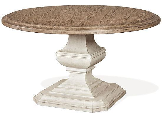 """Elizabeth 53"""" Round Dining Table (71653-71952) by Riverside furniture"""