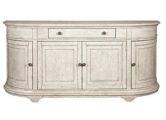 Elizabeth Demilune Buffet - 71646 by Riverside furniture