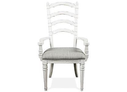Elizabeth Ladder Back Arm Chair - 71659 by Riverside furniture