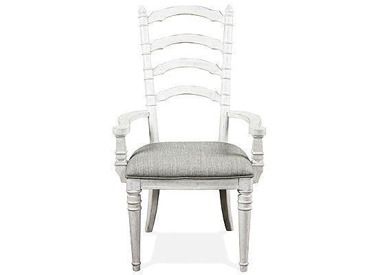 Elizabeth Ladder Back Arm Chair - 71659 by Riverside furniture