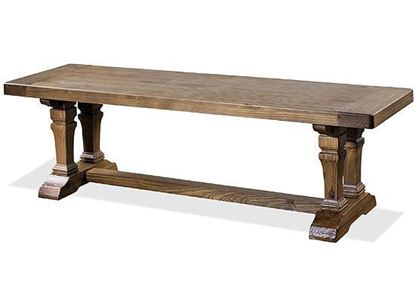 Hawthorne Dining Bench - 23653 by Riverside furniture