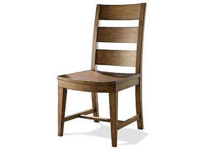 Hawthorne Wood Seat Side Chair - 23654 by Riverside furniture