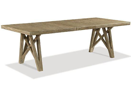 Milton Park Rectangular Dining Table - 18652 by Riverside furniture