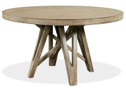 Milton Park Round Dining Table - 18650 by Riverside furniture