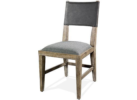 Milton Park Upholstered Seat Side Chair - 18658 by Riverside furniture