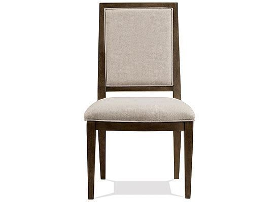 Monterey Upholstered Side Chair - 39457 by Riverside furniture