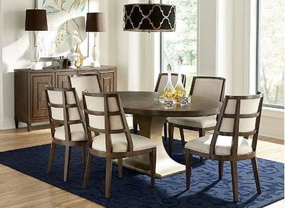 Monterey Dining Collection with Oval Table by Riverside furniture