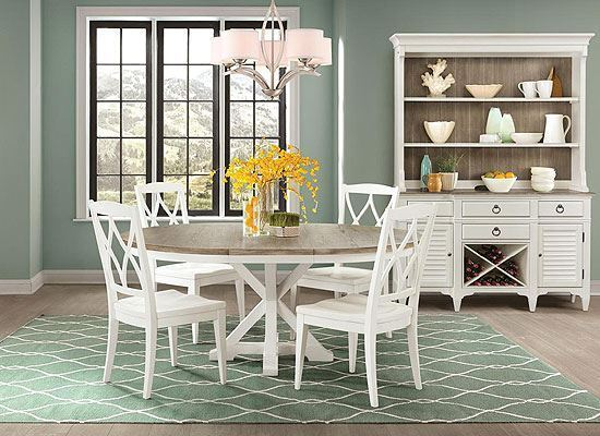 Myra Dining Collection with Round Table by Riverside furniture