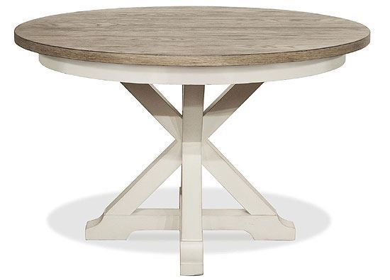 Myra Round Dining Table  (59357-59550) by Riverside furniture