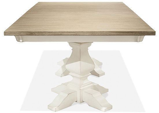 Myra Rectangular Dining Table 59358-59551 by Riverside furniture